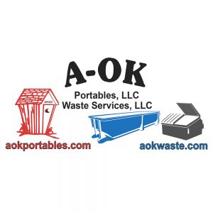 AOK Portables and Waste Services Logo